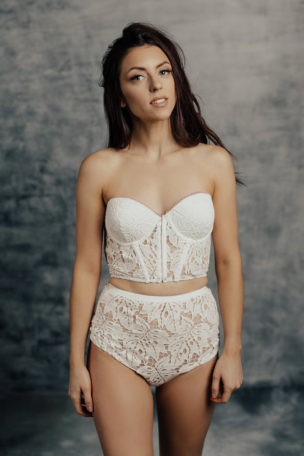 Naila Strapless Bra and High Waist Set