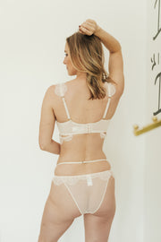 Gigi Blush Cut Out Side Brief