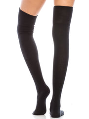 Knit Thigh High Socks