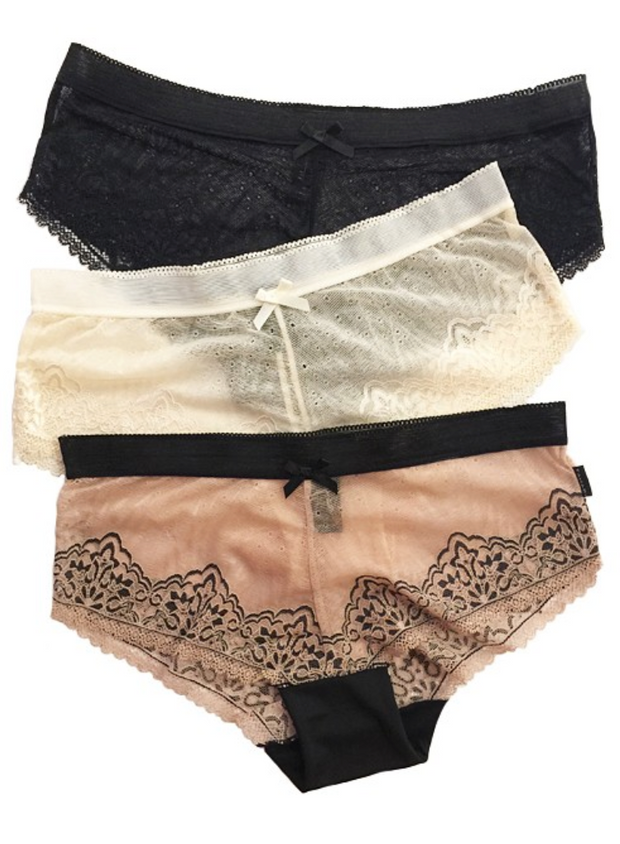Sheer Lace Boyshort