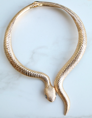 Snake Wrap Necklace