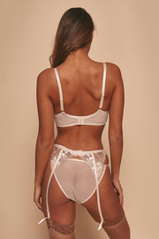 Grace Blush Embroidered Brief