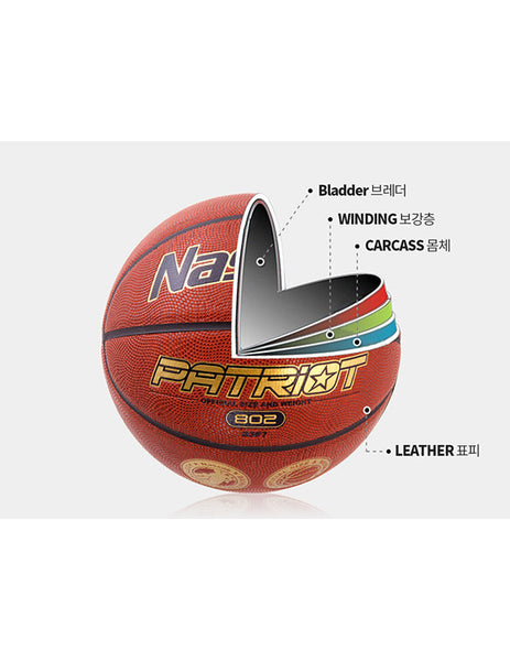 Matchbasketballball Nassau Patriot Gr.7