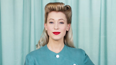 The 1940s Continuous Roll Hairstyle