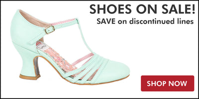 Sales on sale graphic - image of mint retro shoes