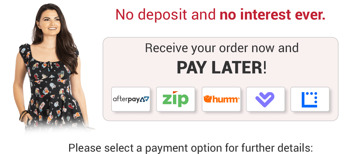 Buy Now, Pay Later banner - payment options