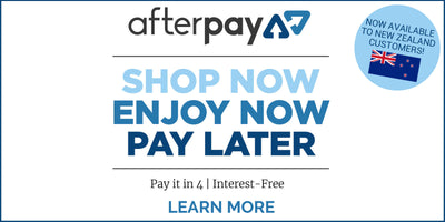 AfterPay Graphic Shop Now, Enjoy Later, Pay Later