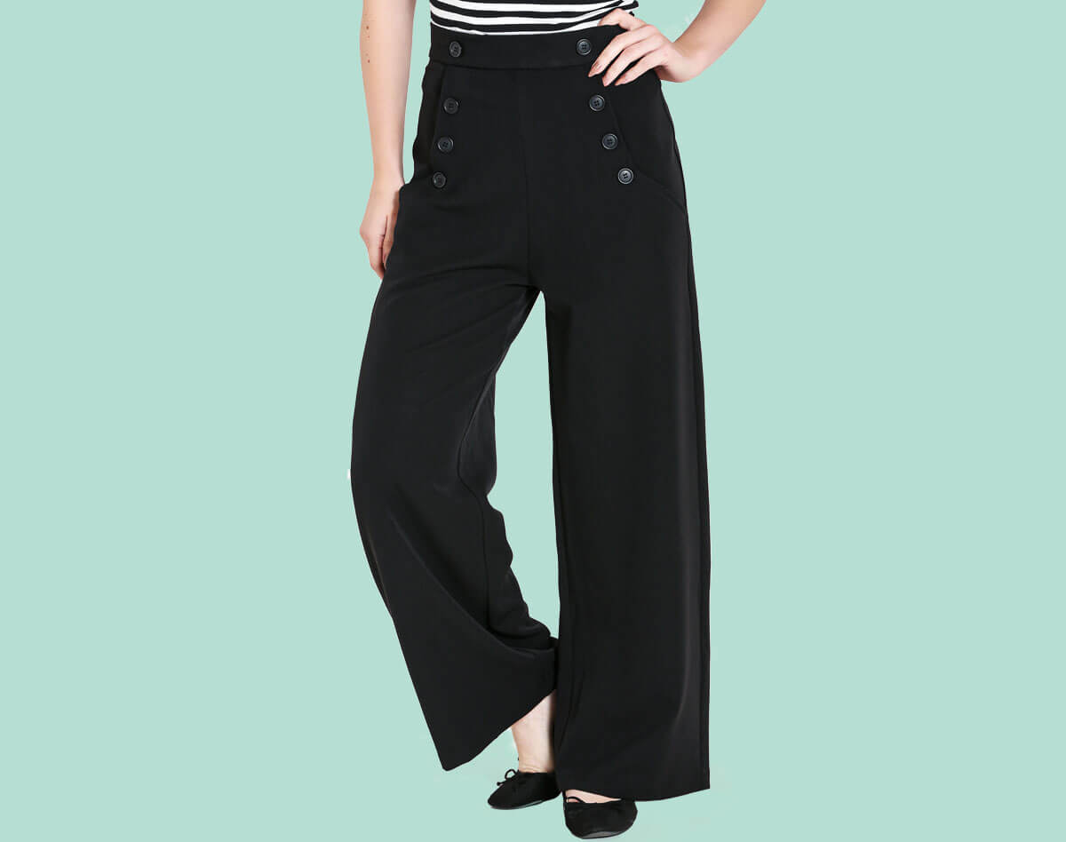 Hell Bunny Carlie Trousers