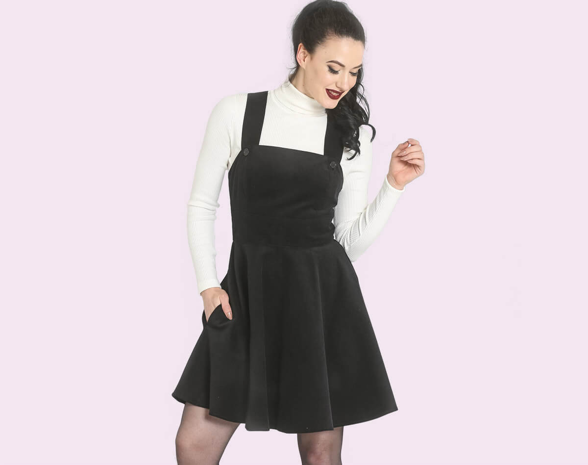 wonder years pinafore dress