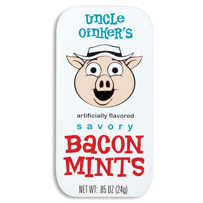 Image of Accoutrements Bacon Breath Mints In Tin