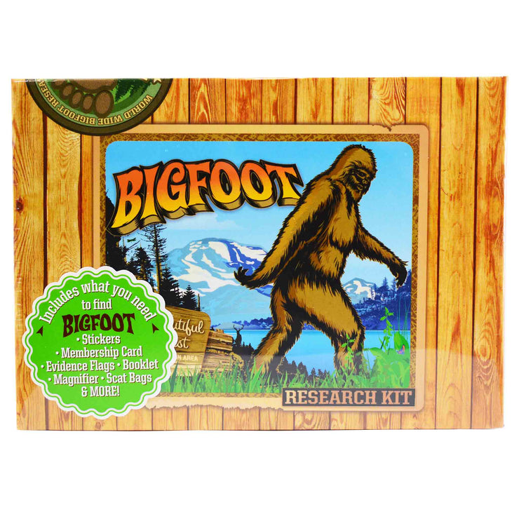 Main Image Archie McPhee Big Foot Sasquatch Research Kit