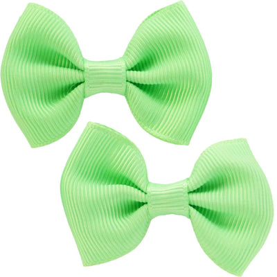 Image of Solid Colour Hair Clips - Mint