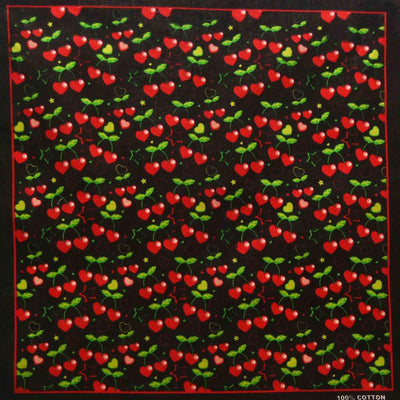 Image of Heart Cherries Bandana