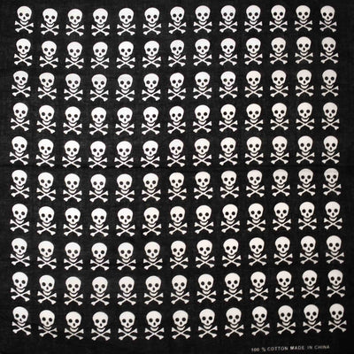Photo skull & crossbones bandana
