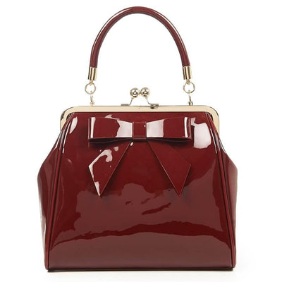 Image of Banned American Vintage Hand Bag - Burgundy