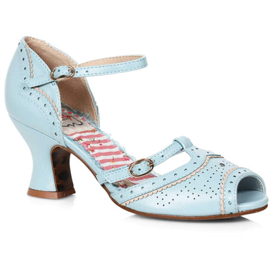 Bettie Page Shoes - Nicole Heels - blue