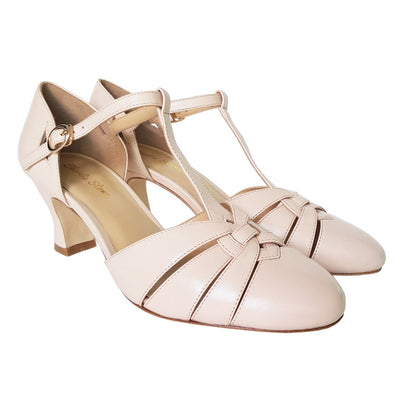 Image of Charlie Stone Luxe Montpellier Heels - Cream (Pre-Order)