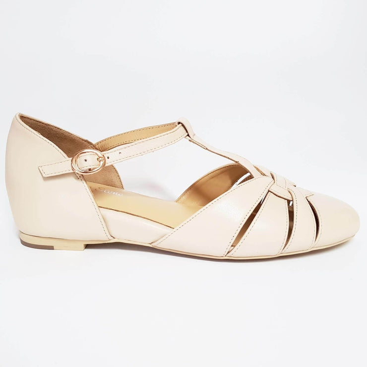 Image of Charlie Stone Montpellier Shoes - Cream