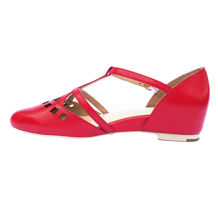 Image of Charlie Stone Valentina Shoes - Red