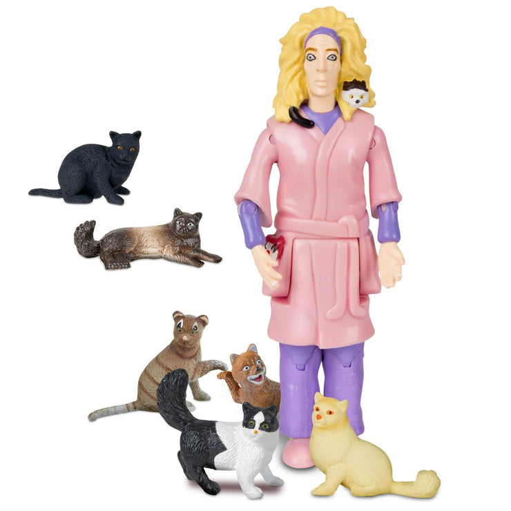 Image of Accoutrements Crazy Cat Lady Action Figure