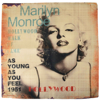 Image Marilyn Monroe Hollywood Cushion Cover