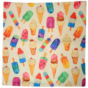 Retro Ice Blocks cushion cover picture