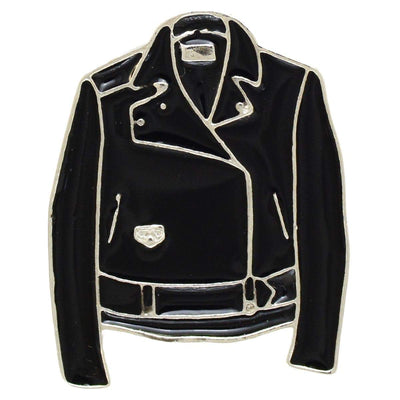 Image of Enamel Pin - Leather Jacket