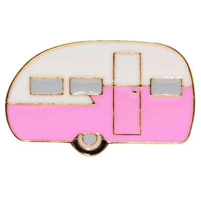 Image of Enamel Pin - Retro Caravan