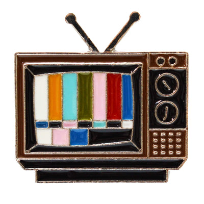 Enamel Pin - Retro Television Test Pattern