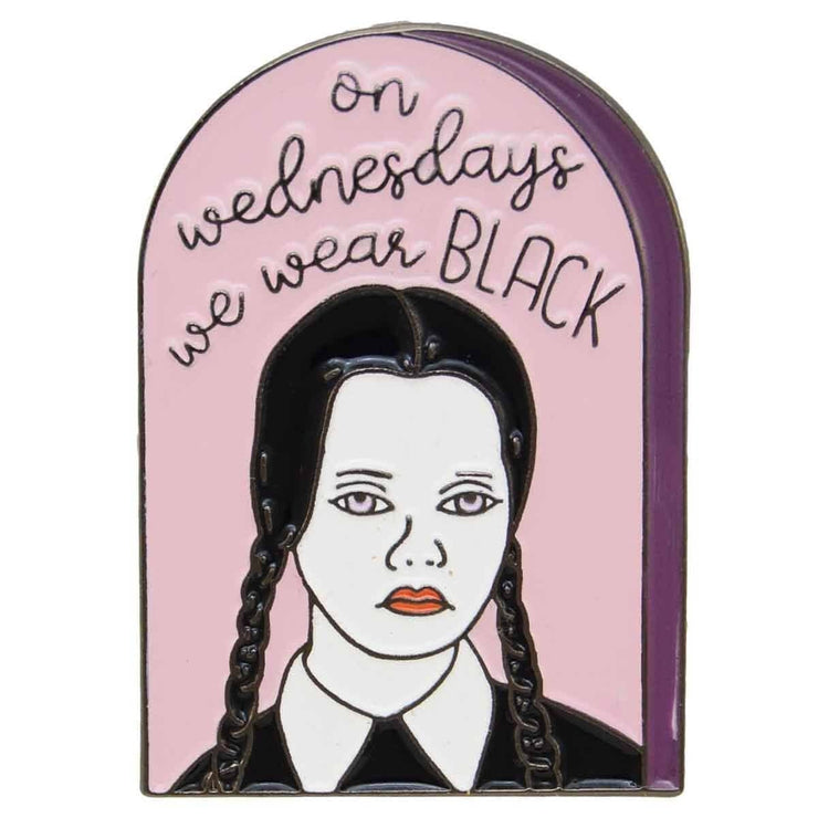 Image of Enamel Pin - Wednesday Addams
