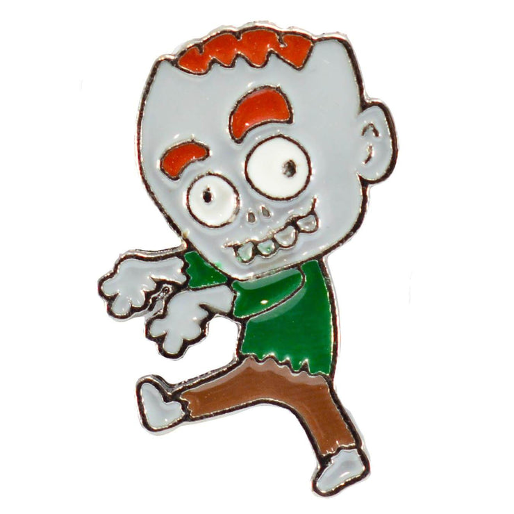Walking Zombie Enamel pin main image
