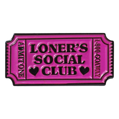 Enamel Pin - Loners Social Club
