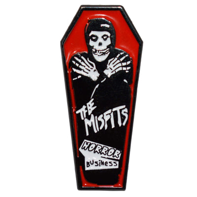Enamel Pin - Misfits Coffin