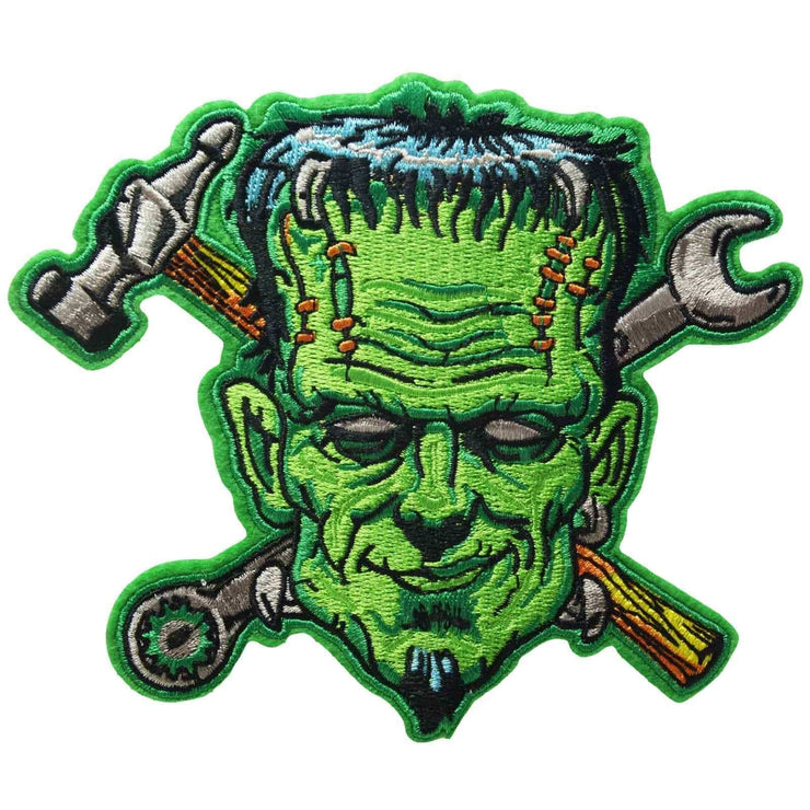 Image of Frankenstein Monster Iron On Patch