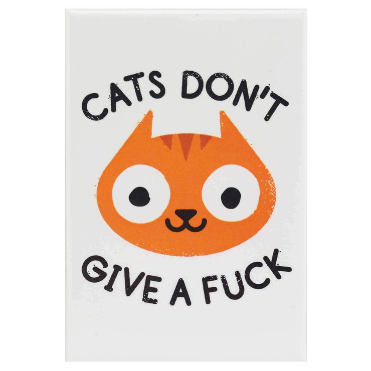 Image of Fridge Magnet - Cats Don't Give A Fu*k