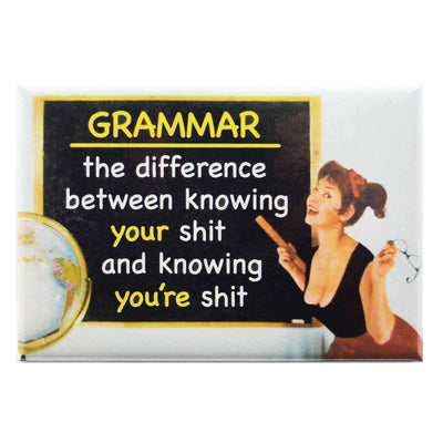 Image of Fridge Magnet - Know Your Grammar