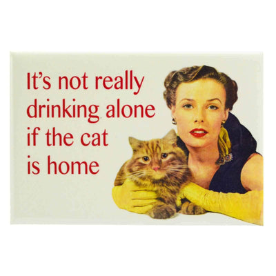 Image of Fridge Magnet - It's Not Really Drinking Alone