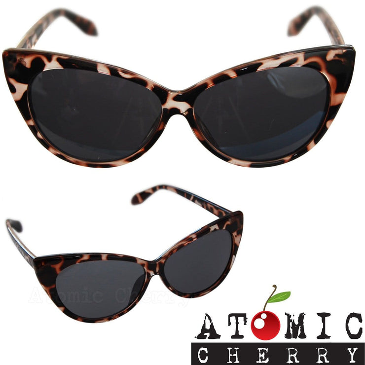 Image of Cat Eye Sunglasses - Tortoiseshell