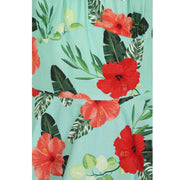 Hell Bunny Moana Hawaiian Mid Dress - fabric