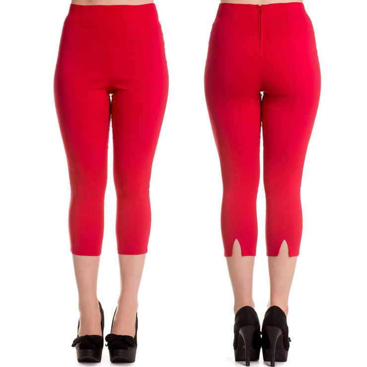 Image of Hell Bunny Tina Capri Pants