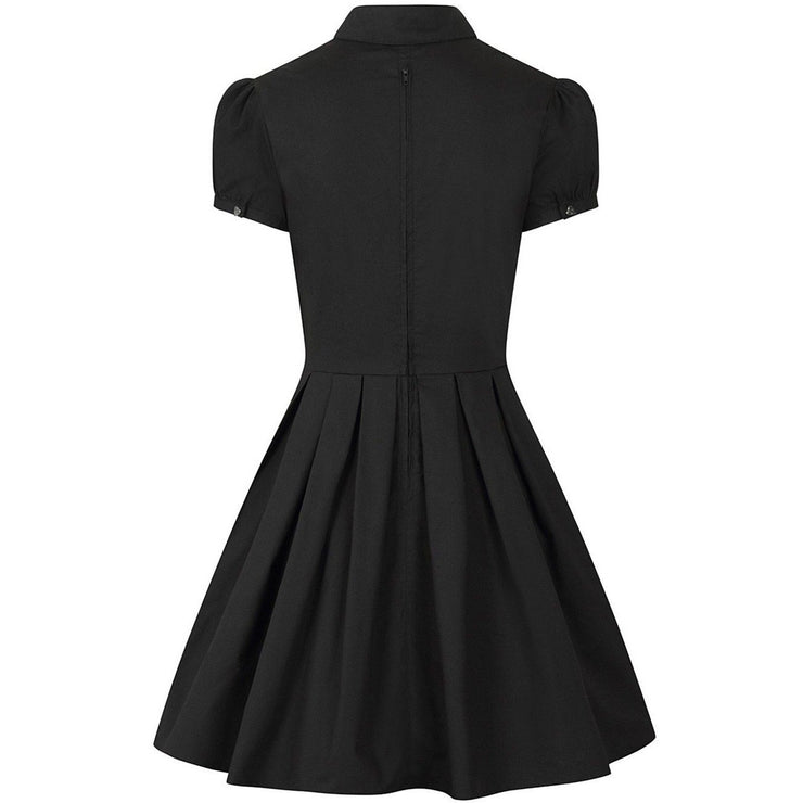 Samara dress on invisible mannequin - back
