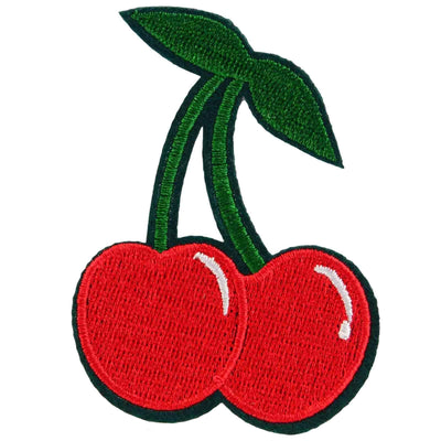 Image of Cherry Iron On Patch