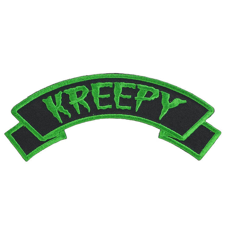 Image of Kreepsville 666 Kreepy Arch Iron On Patch