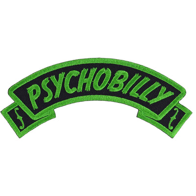 Psychobilly arch patch from kreepsville 666