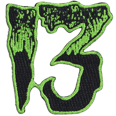 Image of Kreepsville 666 Unlucky 13 Iron On Patch