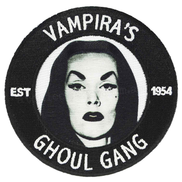 Image of Kreepsville 666 Vampira's Ghoul Gang Iron On Patch