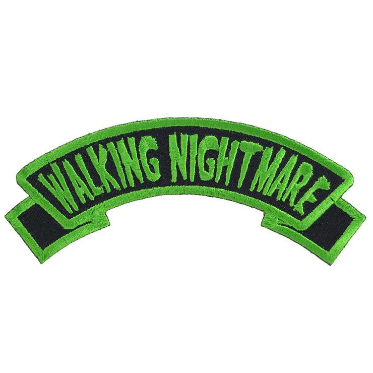 Kreepsville 666 Walking Nightmare Arch Iron On Patch