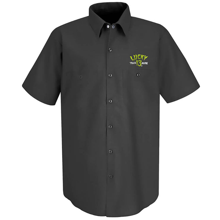 Lucky 13 Gilmans Retro Work Shirt front