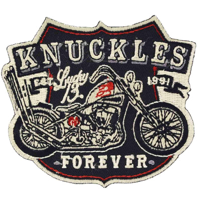 Image of Lucky 13 Knuckles Bike Patch