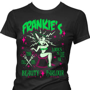 Image of Pinky Star Women's T-Shirt - Frankie's Beauty Parlour - Looks To Die For